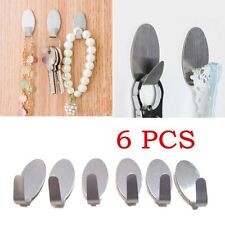 6Pcs Set Of Glue Hangers For Home Kitchen