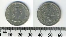 Hong Kong 1961 - 50 Cents Copper-Nickel Coin - Queen Elizabeth II
