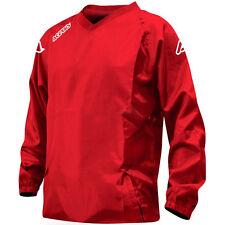 Nuevo Acerbis Motocross Enduro MTB BMX Golf Atlantis Impermeable Chaqueta Rojo Grande L
