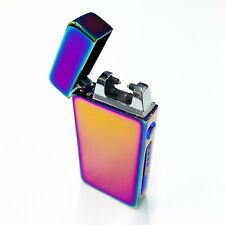 Electric Lighter Windproof Dual Arc Plasma With Box and Cable UK SELLER