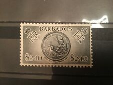 ICOLLECTZONE Barbados #247 VF Never Hinged