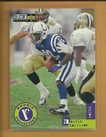 Marvin Harrison RC 1996 Collector's Choice Update Rookie Card # U13 Colts NFL