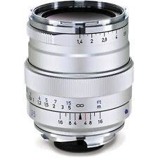 ZEISS 35mm F/1.4 ZM Distagon T* Silver M Mount Lens USA