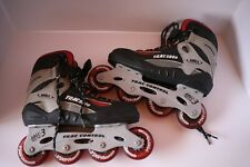 Rd Trac 5000 Stabilizer Abec 3 Racing Inline Skates Roller Blades Size 7