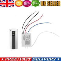 1 Channel ON/OFF 220V Digital Wireless Remote Control Switch for Light Lamp Home