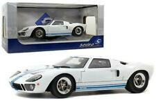 1:18 Ford GT-40 Wide Body - White w/Blue Stripes -- Solido