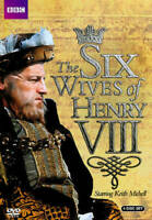 The Six Wives Of Henry VIII 4-Disc Set DVD VIDEO MOVIE England King drama life