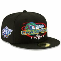 New York Yankees New Era MLB 1998 World Champions 59FIFTY Fitted Hat - Black
