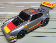 For H0 Slotcar Racing Model Railway Porsche Turbo with Tomy Chassis
