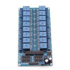 New 16-Channel 12V Relay Module. For Arduino UNO MEGA 2560 R3 ATMEL ATMEGA 1280