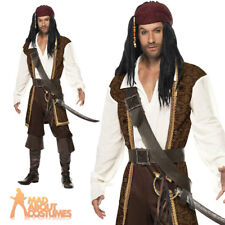 Smiffy S High Seas Pirate Costume With Top Short Trousers