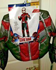 Halloween Costume Boys Marvel Civil War Captain America Large 10-12 2 Piece