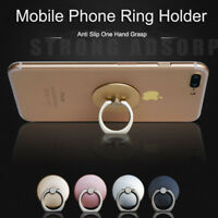 Samsung Finger Grip Ring Phone Stand Holder Mount For mobile iPhone 5 6 7 8 X i