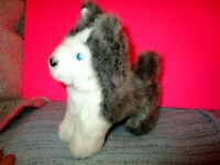 American Girl Doll Dog Pepper Grey & White Husky, Without Collar Tagged