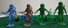 MPC Plastic Spacemen Vintage 1960's Astronaut Lot of 14