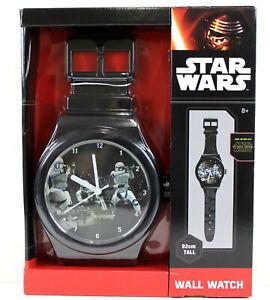 Star Wars Wall Watch 92cm Tall Boys Star Wars Wall Clock NEW