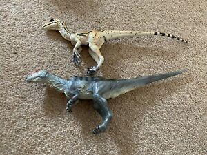 walking with dinosaurs toyway Allosaurus & Utahraptor