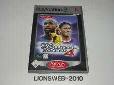 Sony Playstation PS2 Spiel - Pro Evolution Soccer 4    #1509