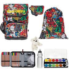 7Set Lego Schulrucksack Rucksack Ranzen Schultasche 20089 Maxi Ninjago Comic efk
