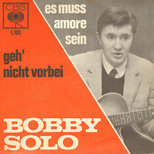 "BOBBY SOLO -  Es Muss Amore Sein (1964 VINYL SINGLE 7"" DUTCH PS)"