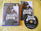 PS2 GAME:BEAT DOWN-FISTS OF VENGEANCE-SONY PLAYSTATION-PS1-PS2-PS3-MULTILINGUE