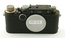 LEICA II syn blackpaint 1932 body Gehäuse rangefinder M39 LTM Collect 86058 /20