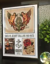 Sailor Jerry Photo Display WITHOUT FRAME Birthday Gift ?