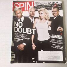 Spin Magazine No Doubt Gwen Stefani May 2009 051917nonrh