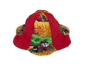 Red CaseIH Infant Sun Hat, 12-18 MONTHS