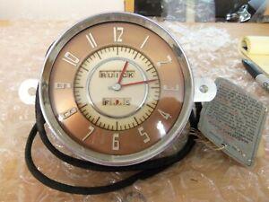 1946-47 Buick Dash Clock Excellent NOS