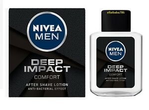 Nivea Men Deep Impact Comfort After Shave Lotion Anti Bacterial Effect - 100 ML