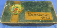 Blechdose Constantin CigarettenTürke Tabak um 1910 ConsTanTin No.30 Hannover
