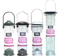 PEANUT FEEDERS - Standard, Premium, Deluxe, Large Wild Bird Feed Nuts Holders kf