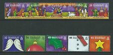 GUERNSEY 2004 CHRISTMAS SET OF 10 UNMOUNTED MINT, MNH