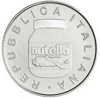Italien 2021 5 Euro Nutella weiß Silber - Italienische Exzellenz