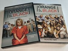 ORANGE IS THE NEW BLACK OITNB Complete Season 1 & 2 DVD Sets Widescreen +Digital