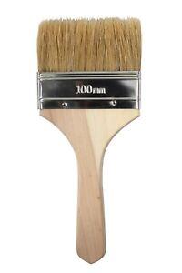 """Gelcoat 4"""" Natural Bristle, Low Loss, Wooden Handle Brush - 12 pack"""