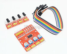 Four 4 Channel Infrared Detector Tracked Photoelect​ricity Sensor For Smart Car