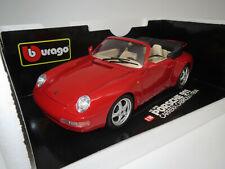 "Bburago  Porsche  911  Carrera  Cabriolet  ""1994""  (rot) 1:18 OVP !"