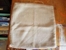 "Pottery Barn ""Cream Linen Reversible"" 20"" Pillow Cover"