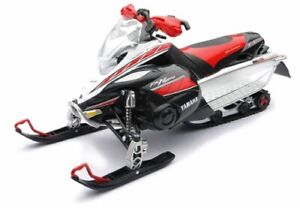 NEW-RAY Yamaha FX Nytro Snowmobile 1:12 Scale Die-Cast Toy Red|White|Black