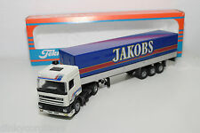 TEKNO DAF 95 TRUCK WITH TRAILER JAKOBS NEAR MINT BOXED