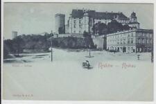 AK Krakow, Krakau, Wawel, Schloß, Mondsch.-AK 1900