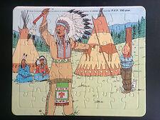 Puzzle Tintin Lombard 1985 en Amérique  TRES BON ETAT