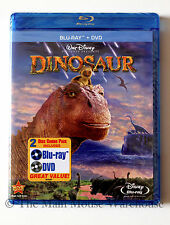Disney Dinosaur Animated Movie Blu-ray & DVD Combo Pack English French & Spanish