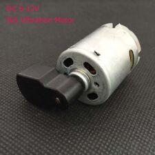 DC 6-12V Mini Micro 365 Vibration Motor Carbon Brush DC Motor for Massager DIY
