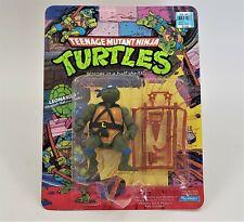TMNT Teenage Mutant Ninja Turtles Leonardo Action Figure NOUC Playmates 1988