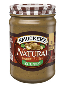 Smucker's Chunky Natural Peanut Butter