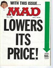 Mad magazine #179 December 1975 VG cond Alfred E Neuman