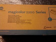 Genuine Original Konica  Magicolor 2200 Series 1710471-004  Toner Cyan